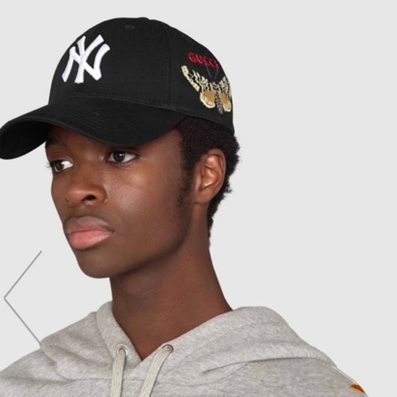 72dfc228 Gucci Accessories | Ny New York Yankees Baseball Cap | Poshmark